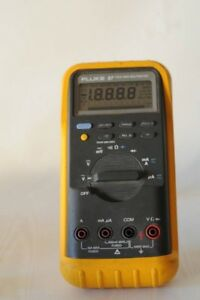 Fluke 87 True Rms Industrial Multimeter With Test Leads