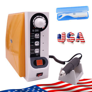 Us Control Dental Brushless Manicure Grinding Machine Lab Carving 60000rpm Gift