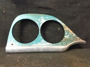 1958 58 Dodge Coronet Right Hand Side Headlight Bezel Head Light Oem Passenger