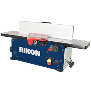 Rikon 20 600h 120 volt 6 inch Durable Benchtop Jointer W Helical Cutterhead