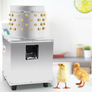 Hq Stainless Steel Chicken Plucker Plucking Machine Poultry De feather Machine
