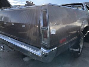1978 Ford Ranchero Rear Bumper