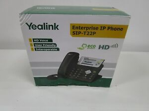 Yealink Sip t22p Ip Phone New In Box See Photos