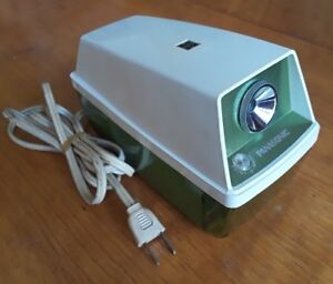 Vintage Panasonic Green Electric Pencil Sharpener Model Kp 8a