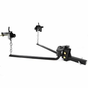 14000 Lb Weight Distribution Equalizer Sway Control Trailer Towing Hitch Bar