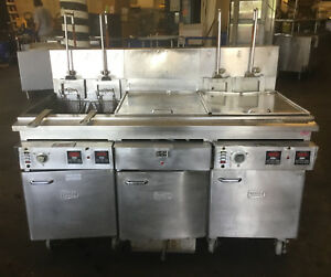 Keating Double Bay Deep Fryer With Dump And Filtration 3ph