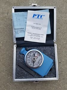 Ptc 306l Durometer Hardness Tester With Case And Instructions 0 100
