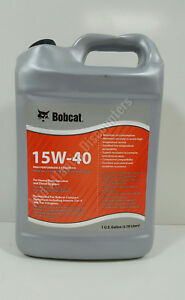 New Genuine Oem Bobcat 7023081 High Performance Engine Oil 15w 40 1 Gallon