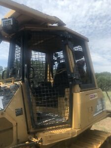 Caterpillar Cat D3g D4g D5g Dozer Cab Screen Enclosure