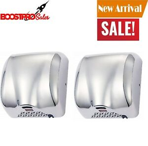 High Speed Air Electric Hand Dryer Automatic Sensor Commercial Bathroom 1800w