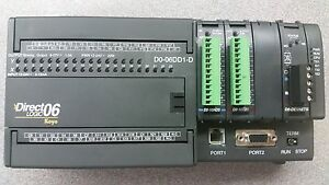 Automation Direct Plc D0 06dd1 d With 3 Modules Included