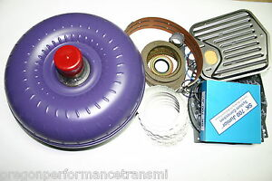 200 4r Master Rebuild Kit Torque Converter Transgo Shift Kit 2004r Transmission