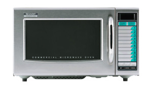 Sharp Commercial Medium Duty Microwave Oven 1 0 Cu Ft