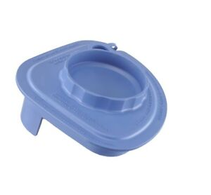 Rubber Splash Lid With Tethered Plug blue For Vitamix Commercial Advance