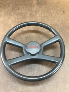 88 94 Chevrolet Gmc Truck Suv Complete Steering Wheel With Horn Cap Oem Read
