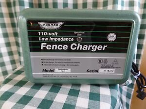 Electric Fence Charger Parmak Precision Fieldmaster Fm 1 110 volt 15 Mile Range