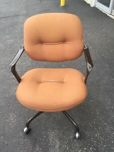 Knoll International Hannah Morrison Swivel Office Chair Mid Century Modern