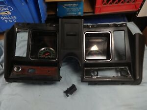 1969 69 Camaro Original Dash With Ac Delco Gauges Gm Oem Nice