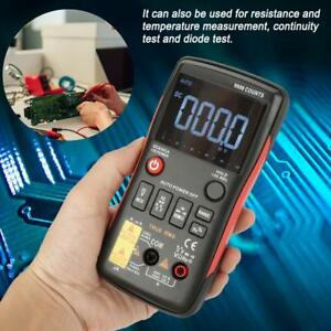 Aneng Q1 True rms Digital Multimeter Button 9999 Counts With Analog Bar Graph Sm