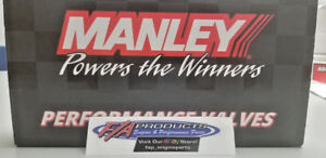 Manley Race Flo Chevy Ls Stainless Valves 2 165 Ls 3 L 99 L92 Set 8 Intake
