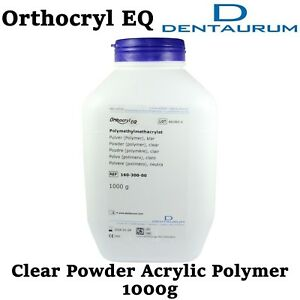 Dental Orthodontic Dentaurum Orthocryl Eq Powder Clear Polymer Acrylic Resin 1kg