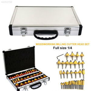 Shank Router Bit Woodworking Woodworking Tools 35 Pcs set Durable Portable
