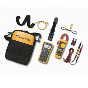 Fluke 116 323 Kit Hvac Multimeter And Clamp Meter Combo Kit