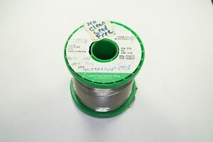 143859 Alpha Telecore Plus No Clean Lead Free Solder Wire 015 96 5sn 3ag 5cu