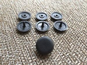 4x Seat Belt Stop Button Stopper Universal Clip Fits Any Infiniti In Graycolor