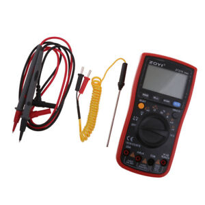 Zt219 Digital Multimeters Auto Ranging Electrical Tester Volt Amp Ohm Meter