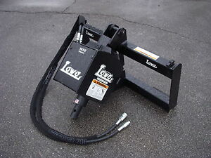 Bobcat Skid Steer Attachment Lowe 1650 Classic Hex Auger Drive Post Ship 199