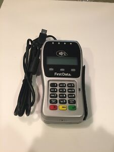 First Data Fd 35 Pin Pad For Credit Card Terminal Emv apple Pay nfc chip