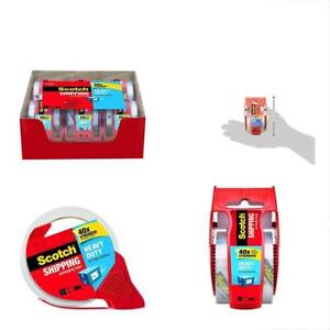 Heavy duty Shipping Packing Tape Packaging With Dispenser 2 X 1 000 6 Pk