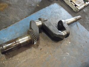 1951 John Deere A Farm Tractor Crank Shaft