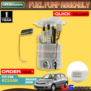 New Fuel Pump Module Assembly Fit Nissan Versa Cube L4 1 6l 1 8l 07 2014 E8855m