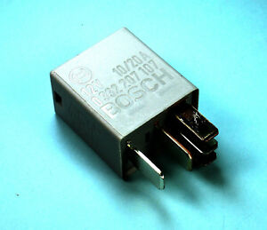 Bosch Automotive Relay 5 Pin Micro 0332207107 10 20amps Spdt