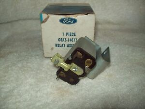 Nos 65 73 Ford Fairlane Torino Galaxie Mustang Power Window Relay C5az 14677 a