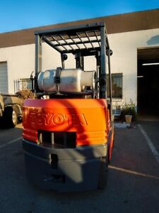 Used Toyota Forklift 5fgc25