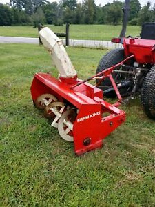 Farm King 3 Point 60 Snow Blower Cat 1 Hookup Can Ship