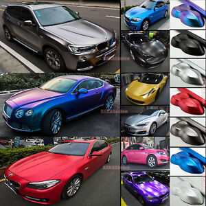 Newest Car Pearl Metal Satin Matte Metallic Chrome Vinyl Wrap Sticker Decal Ab