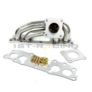 Turbo Exhaust Manifold For 83 88 Toyota Pickup 4runner Hilux 22re 22r Te Engine