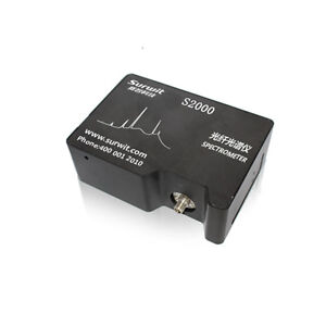 New S3000vis Spectrometer With Usb Power Line