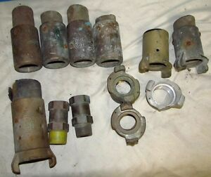 Industrial Sand Blasting blaster Parts Lot Pauli Griffin Nozzle 1 Way Valve 424