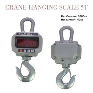 Updated 5000kg 11 000lb Ocs t Heavy Duty Digital Crane Hanging Scale Led Display