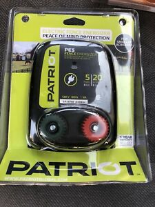 Patriot Pe5 Electric 110v ac Fencer 5 Mile 20 Acre Fence Energizer Charger Post