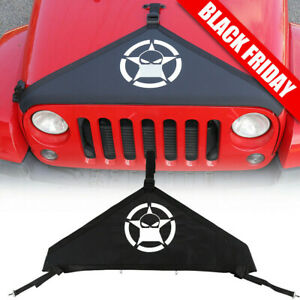 T Style Front Hood Cover Bra Cover Protector Kit For Jeep Wrangler Jk 07 17 Hm