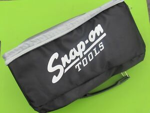 Rare New Snap On Tools Black Promo Lunch Bag 10 W X 9 h Box Cooler Tote