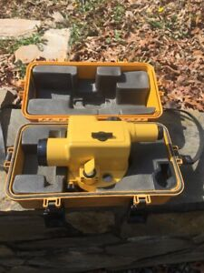 Topcon Auto Construction Level At d2 Used Good Condition