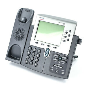Cisco 7960 Cp 7960g 6 line Unified Ip Voip Office Phone W Stand Base Only