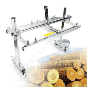 14 24 Timber Log Wood Cutting Guide Saw Chainsaw Mill Planking Lumber Sale